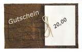 20 Euro Shop-Gutschein
